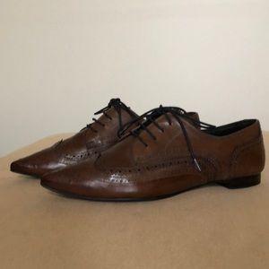 Pedro Garcia leather lace up oxfords. Size 37 EUR.